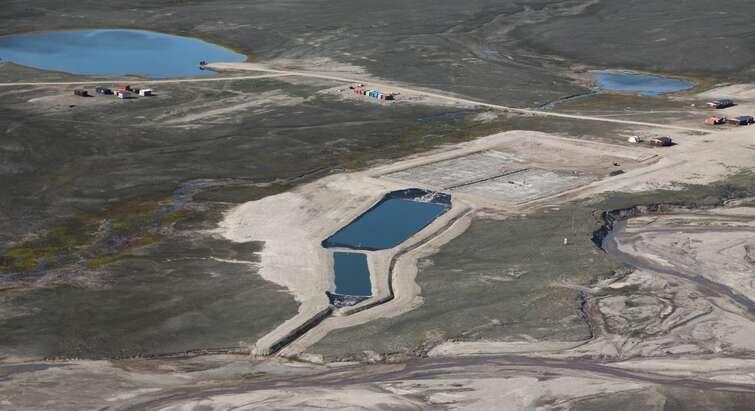Landfarm from air