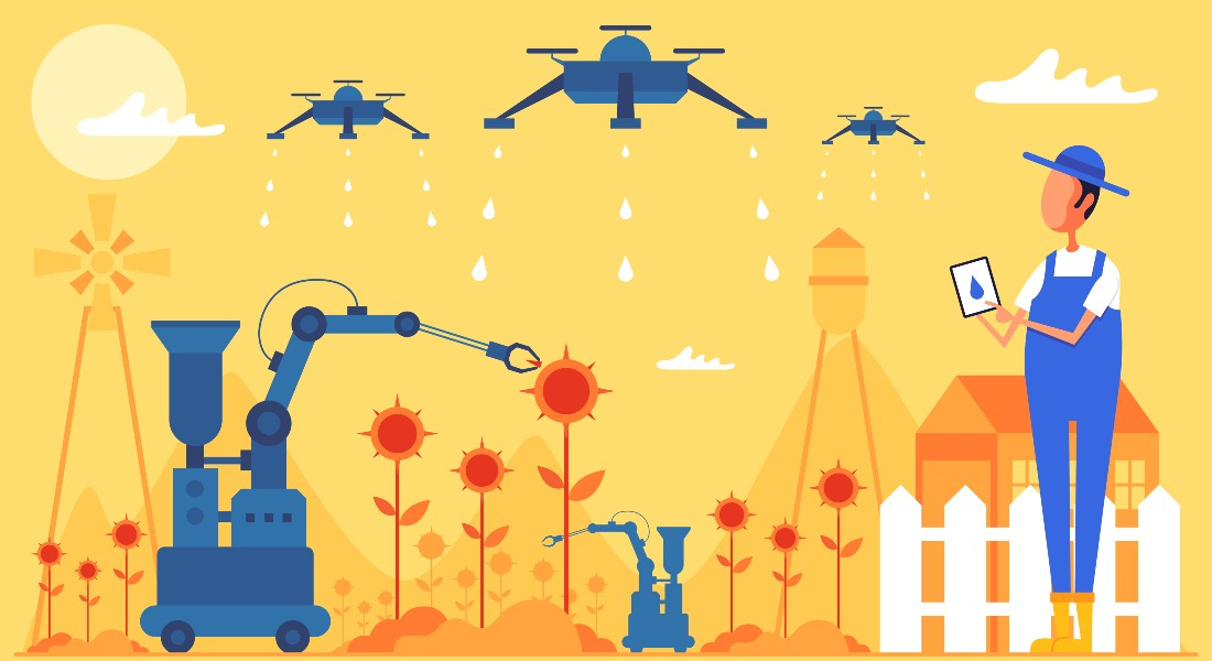 Robots can improve agriculture
