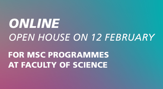 Kom til Åbent Hus på Det Natur- og Biovidenskabelige Fakultet